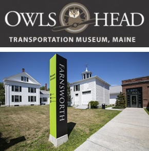 Owls Head Transportation Museum and Farnsworth Museum